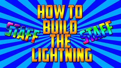 how to get the lighting how to get the lightning staff