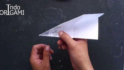 tutorial origami pesawat terbang cara buat origami sederhana pesawat kertas youtube