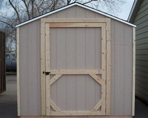 mccarte building  wooden shed  scratch