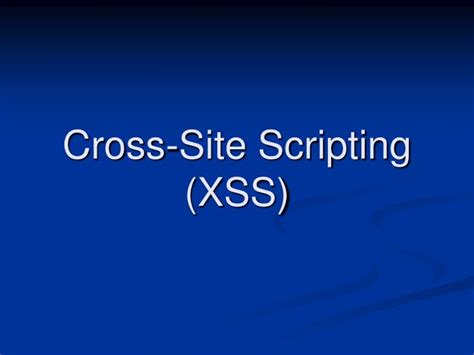 xss harvest ppt ethical hacking penetrating web 2 0 security