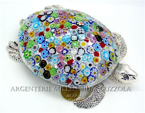 ladario vetro di murano prezzi bomboniera tartaruga vetro murano murrina argento silver