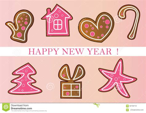new year symbols in order new year set stock photo image 62756712