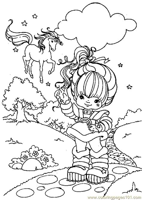 Rainbow Bright Coloring Pages Coloring Pages Rainbow Bright Coloring Page 10 Cartoons by Rainbow Bright Coloring Pages
