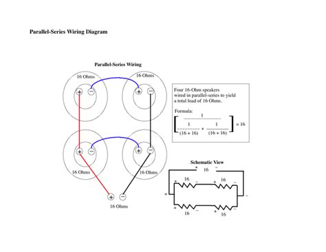 parallel wiring diagram 4x12 parallel wiring dual voice