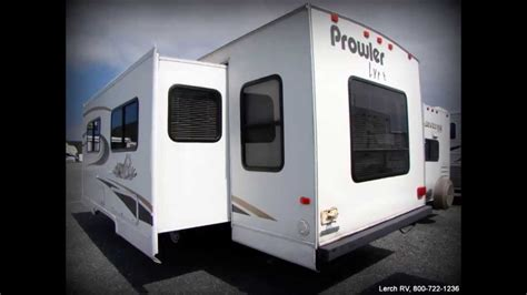 If Only 2004 Review And Trailer by 2004 Fleetwood Prowler Lynx 830y Used Travel Trailer Rv