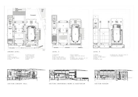 Music City Center Floor Plan lucerne culture and congress centre jean nouvel