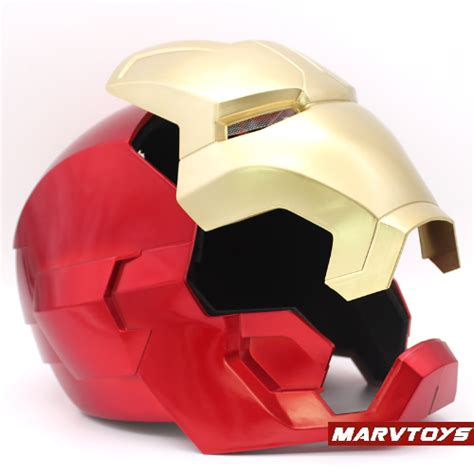 iron man helmet mask adults kids cosplay led