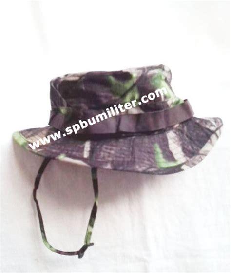Topi Rimba Loreng Perbakin Au topi rimba loreng camo oak spbu militer
