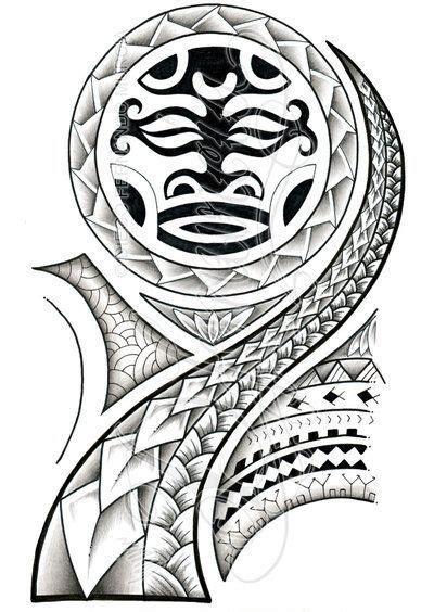 tattoo dwayne johnson plantilla plantillas tatuajes polinesios maorie samoano tattoos
