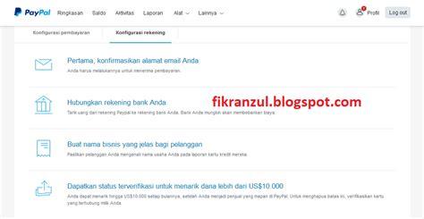membuat akun paypal di indonesia fikezu s blog cara membuat akun paypal indonesia terbaru