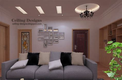 Fall Ceiling Designs For Living Room Gypsum Fall Ceiling Design With Lighting For Living Room