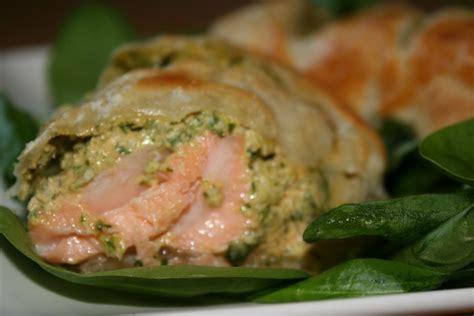 Salmon Encroute salmon en croute fudgingood