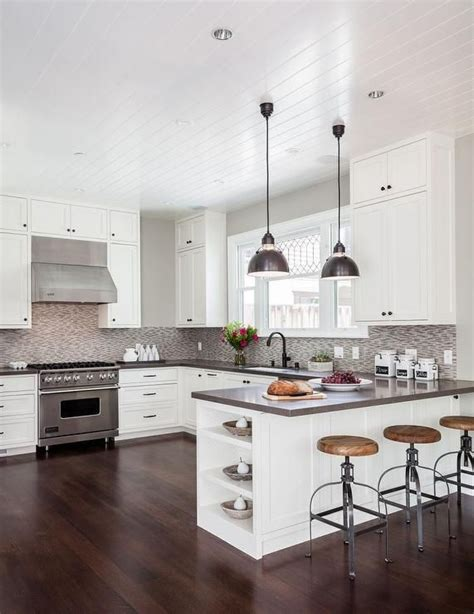 Best 25  Kitchens with peninsulas ideas on Pinterest   Peninsula kitchen interior, Kitchen with
