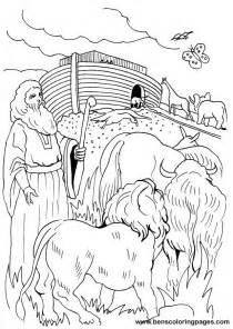 noah coloring page free coloring pages of noah ark children