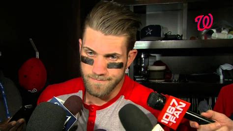 bryce harper benched bryce harper discusses being benched in the nats 4 3 loss