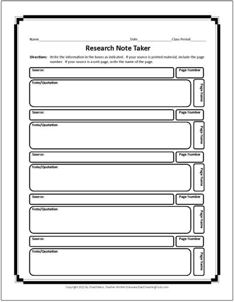 search results for research graphic organizer
