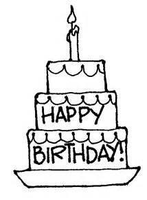 Black And White Birthday Clipart black and white birthday clip clipart best