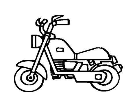 disegno  motocicletta harley da colorare acolorecom