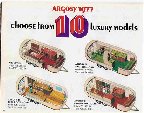 Gmc Motorhome Floor Plans by Looking At 24 Ft Argosy Airstream Forums