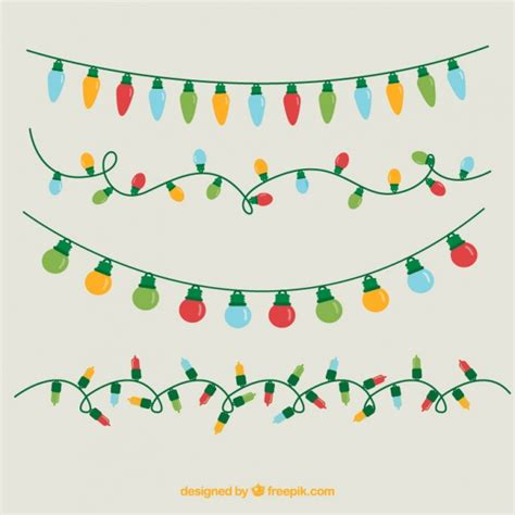 christmas light vectors photos and psd files free download