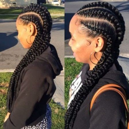 big fat cornrolls fat cornrows with style teen trove hairstyles