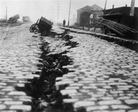earthquake of 1906 shaking all over map of every major earthquake since 1898