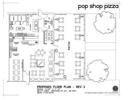 pizza shop floor plan jeff hulligan graphic design pop shop pizza design