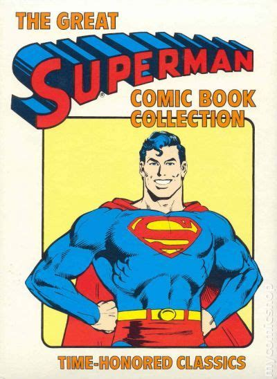 from superman to books great superman comic book collection hc 1981 dc comic books