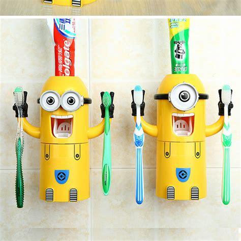 minions toothbrush holder minions bathroom set arts