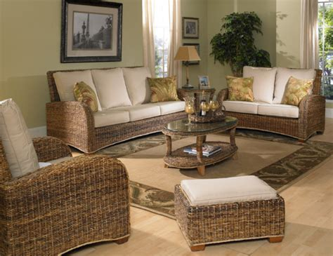 Tropical Living Room Furniture Seagrass Furniture St Kitts Tropical Living Room New York By Wicker Paradise