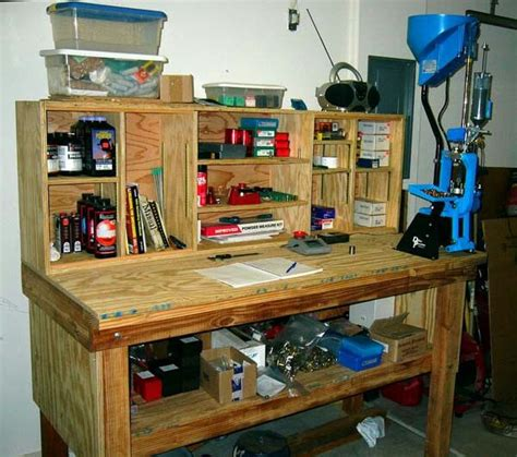 reloading bench blueprints ammo reloading bench plans pictures to pin on pinterest