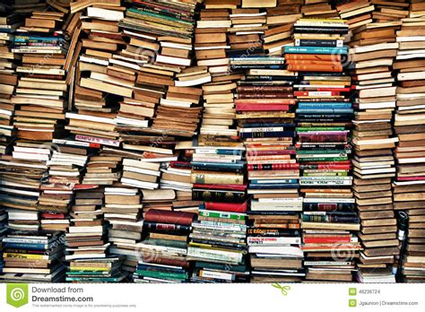 the market books loads of books editorial stock image image 46236724