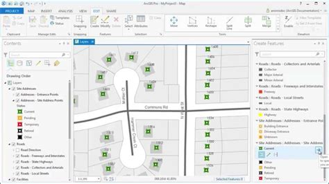 arcgis report tutorial arcgis pro edit with feature templates youtube
