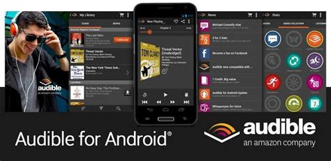 audible for android deezer android