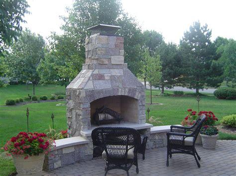 outdoor open fireplace deck design and ideas