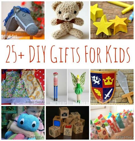 Handmade Childrens Gifts - 25 diy gifts for make your gifts special