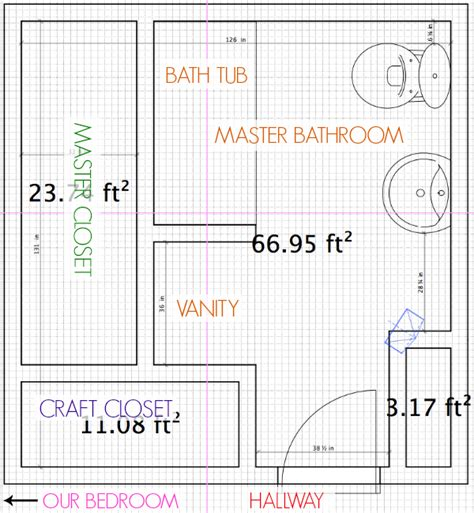 average master bathroom size bathroom remodel the before part 1 c r a f t