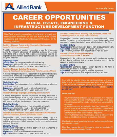 careers with banks allied bank limited abl 2017 apply paperpk