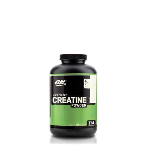 creatine serving size optimum nutrition micronized creatine powder 114