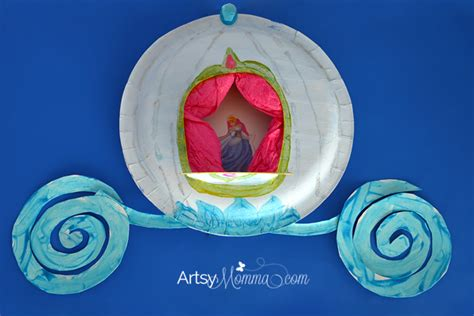 cinderella crafts for the princess birthday march 2015