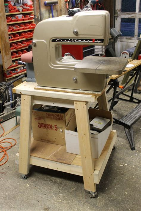 Bandsaw Sander Stand And Easy Belt Sander Table By