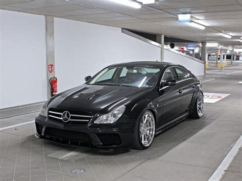 mercedes cls 63 amg black edition mercedes cls 63 amg w219 black edition tuning widebody