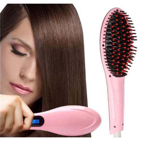 Sisir Catok Fast Hair Strightener Hqt 906 catok sisir pelurus rambut hqt 906 fast hair catokan