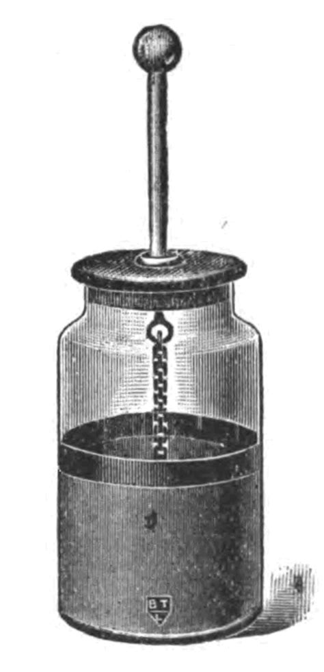 Hanging Photos On Wire file leyden jar engraving png wikimedia commons