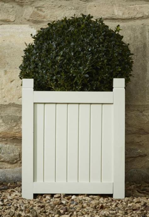 Versailles Planters by Hardwood Square Versailles Planter In Grey W36cm X