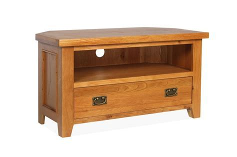 Canterbury Oak Corner TV Unit