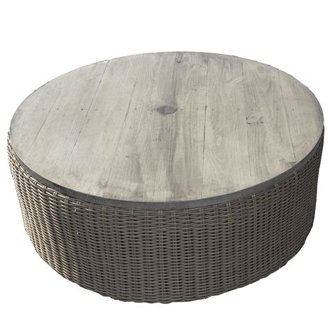 Woven Coffee Table Ottoman 42 Quot Woven Ottoman Coffee Table Southern Home