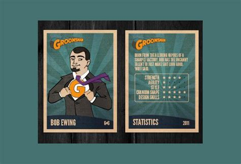 planet trading cards template 14 best fall session templates images on card