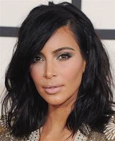 hair s s 2015 kim kardashian s hair makeup grammys 2015 thefashionspot