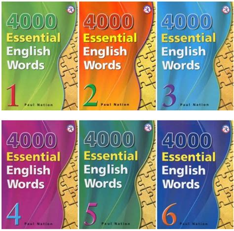 Series 4000 Essential English Words With Answer Key 1 2